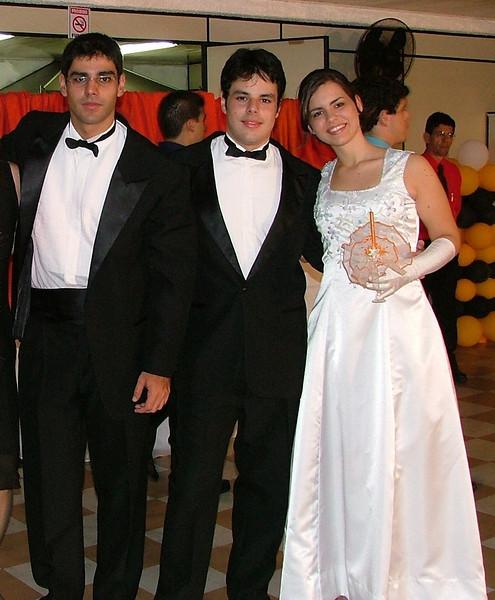 Baile de 15 Anos da Stephanie, filha do Diomar, em novembro de 2005.