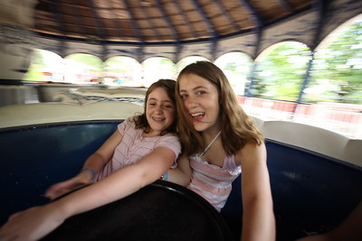 Allie and Tifanny at Funtown