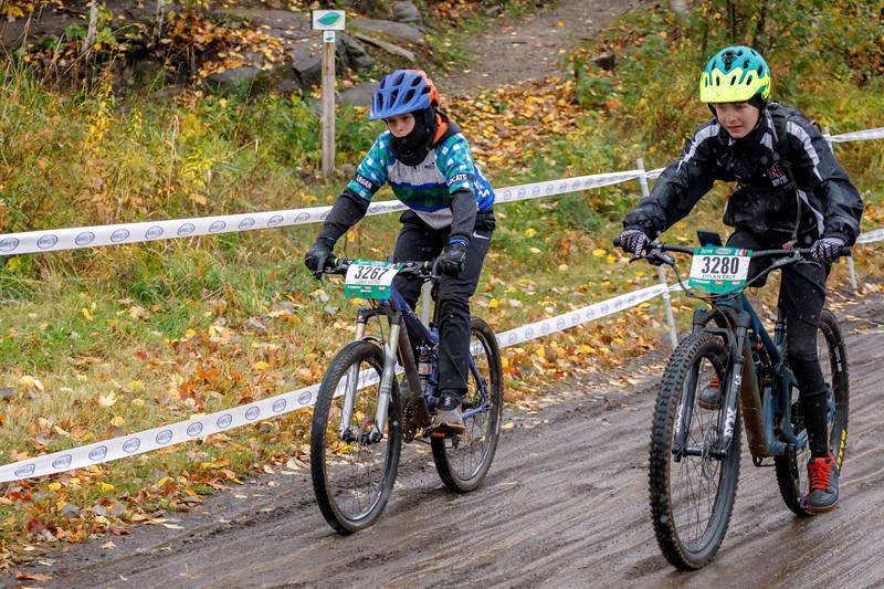 Minnesota High School Cycling League Race #6 at Spirit Mountain - October 12, 2019