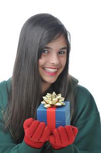 Ali with present