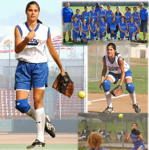 Allie Softball