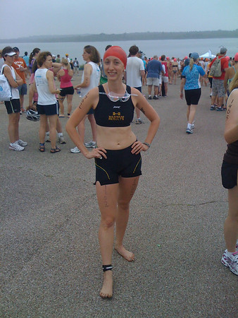 Ally's First Triathlon, 2010 Danskin