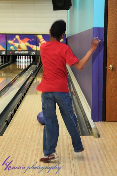 Alonzo's bowling!