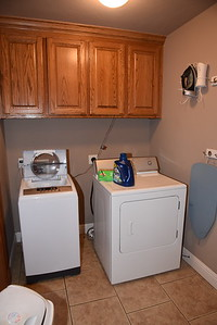 Laundry Room, just off kitchen on way to garage