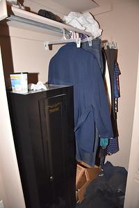Master closet behind door