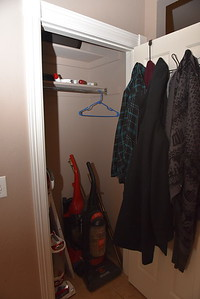 Closet in Front Entry Hall