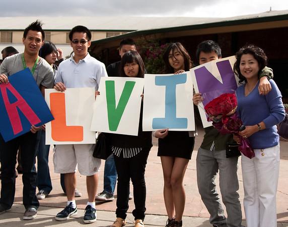 Alvin Tran Graduation