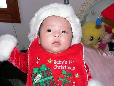 Alyssa's 1st Christmas!