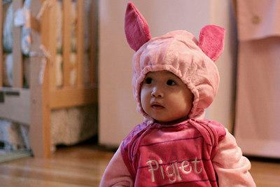 How cute is Piglet Alyssa?