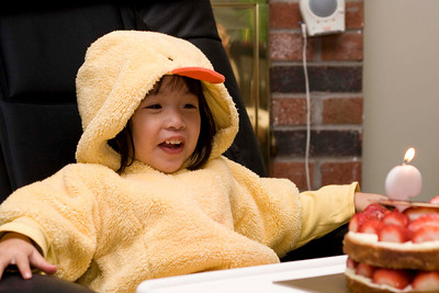 Little Duckie's b-day.