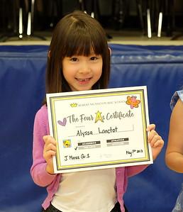 Alyssa's Award