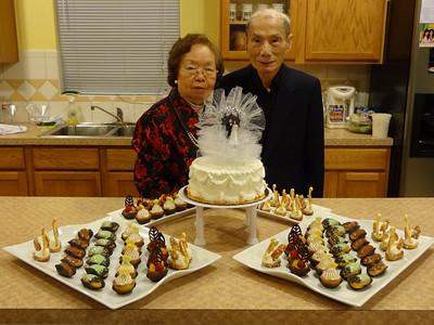 Ama/Apa 60th Wedding Anniversary Celebration, Houston, TX, 18 Feb 2012