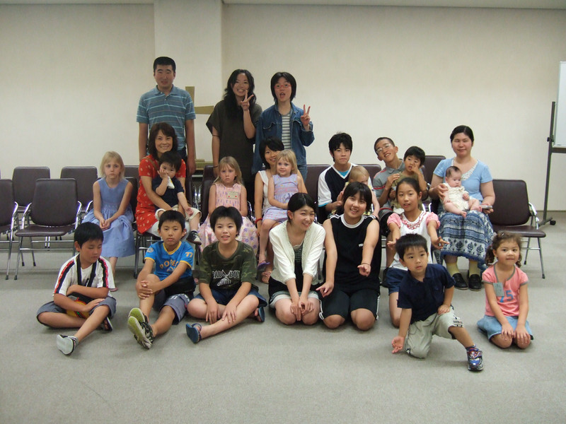 all the kids who came to the summer bible camp