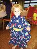 little Naomi in her kimono