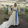 Amanda shops for a wedding dress :