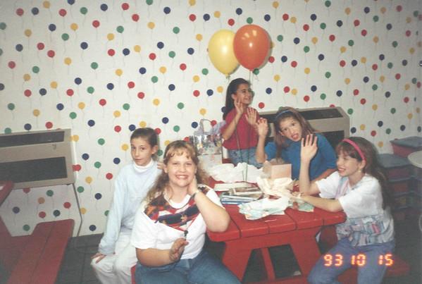 Mandy at birthday party