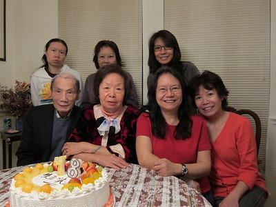 Ama's 78th birthday, 10 March 2012