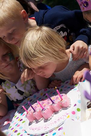 Amaya and Kate's 5th Birthday