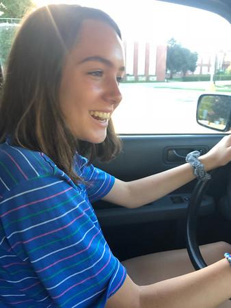 Amelia Driving