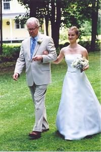 Sarah & her father David