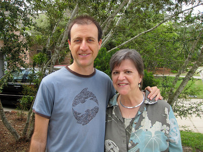 Dave & Betty in Houston (March 2011)