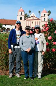 Aunt Betty in Santa Barbara (Thanksgiving 2005)