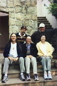 Thanksgiving 2002: Tommy, Mike and his wife Abbey