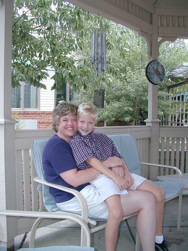 IB & Aunt Lynne at Green Hills Jul 02