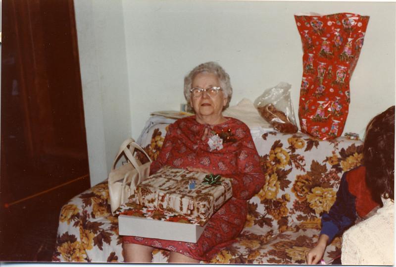 Grandma Berndt Xmas 82 86yrs