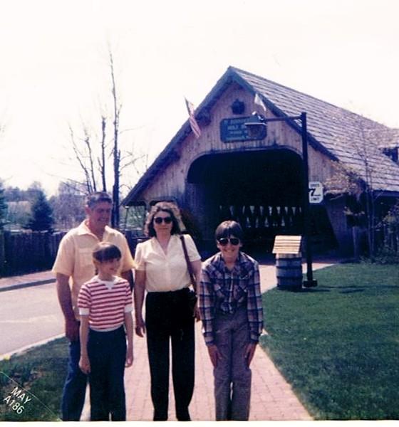 Dad, Mom, Bryan & Becky