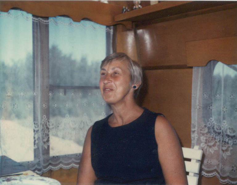 Aunt Francis Richards (uncle Ralph's wife)