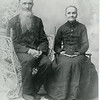 Mid to Late 1800's - Jacob Pea and Mary Hastings - probably Susannah Pea's parents.  (Beryl Criswell's great-grandparents)<br /> Susannah was born in 1836.