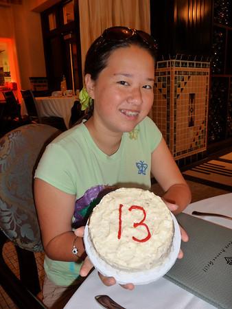 Amina 13th birthday