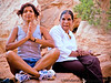 V and her mom in Arches National Park, UT, by K