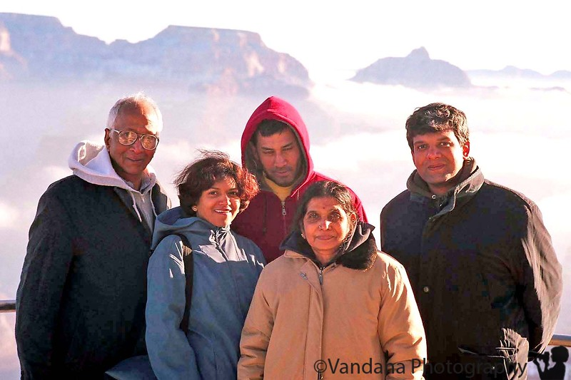 all together at Grand Canyon National Park, AZ