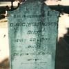 A2 Carl Conrad Welhausen headstone 1793-1866