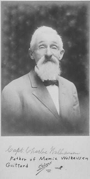 Capt  Chas Welhausen Waco white beard
