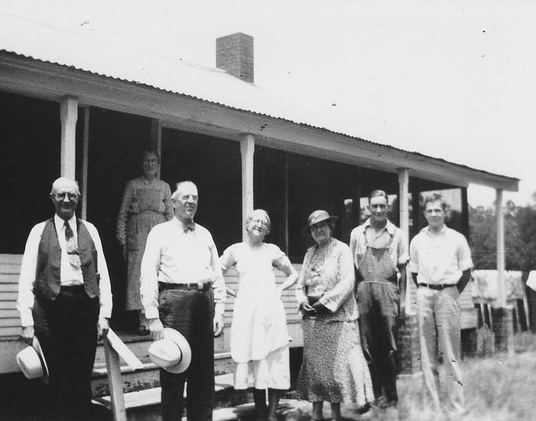 E3h Henry Richter & sister Henrietta w FG & CA Guittard summer 1935 So Tx