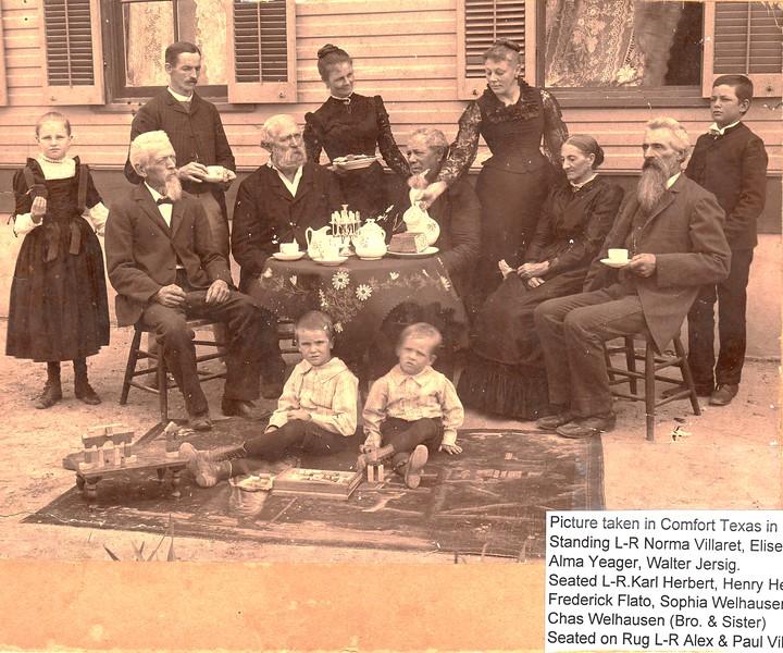 B1b L6 1893 Sophie Flato next to Chas Welhausen - family photo - Copy - Copy