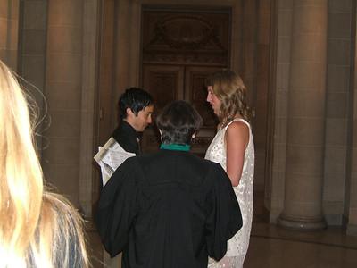 The ceremony.