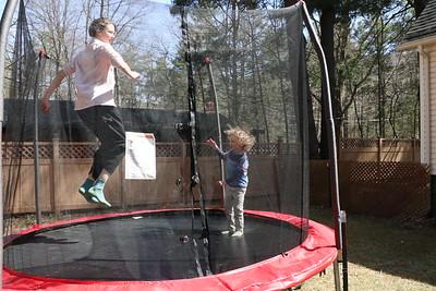 Megan and Arthur Airborne