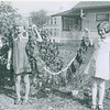 Harland and Joanne Fredine - holding Grandma's mittens - 1936