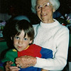 Matt with his great Grandma