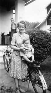 Betty holding Beryl