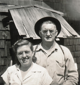 37. Ina May and Gilbert (Gil) Hosier, c. 1950, Arlington, WA