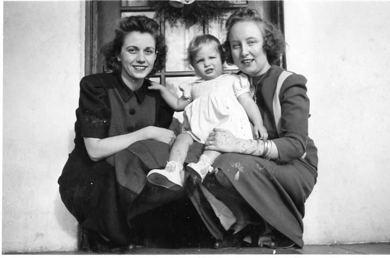 Ruth (our mother) Beryl, Elda