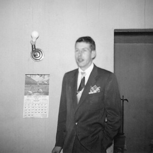 41. Charles (Chuck) Wildren Johnson, c. 1951