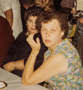 Aunt Marie and Mary Shore