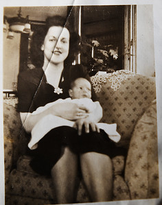 Mom with baby Leon