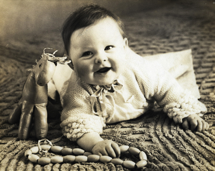 Robin MacAskill baby photo